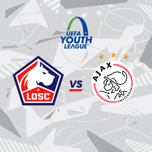 YOUTH LEAGUE: LOSC - AFC AJAX
