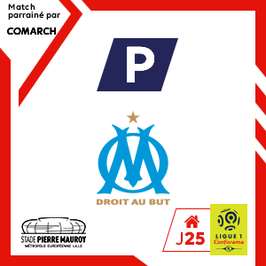 PARKING LOSC - O. DE MARSEILLE